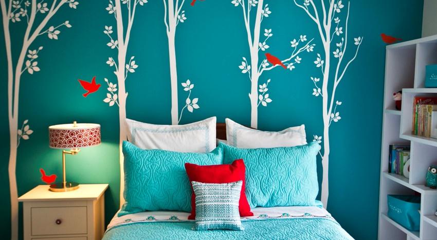 Все оттенки синего помогают расслабиться и спокойно уснуть