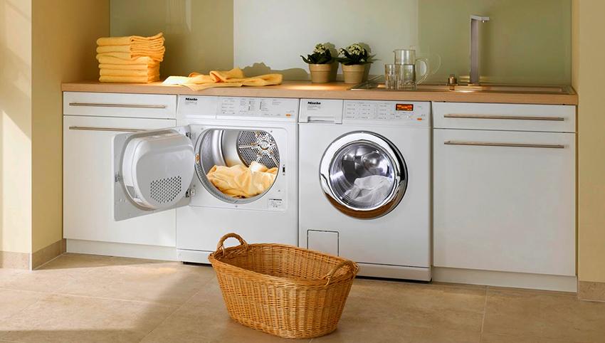 Компания Miele производит множество моделей стирально-сушильных машин