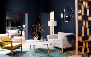 Темные обои: правила сочетания оттенков для стильного и оригинального дизайна