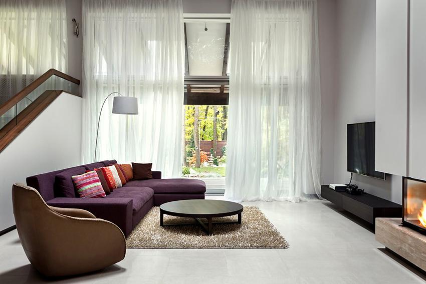 Угловые диваны отлично смотрятся в помещениях разных стилей