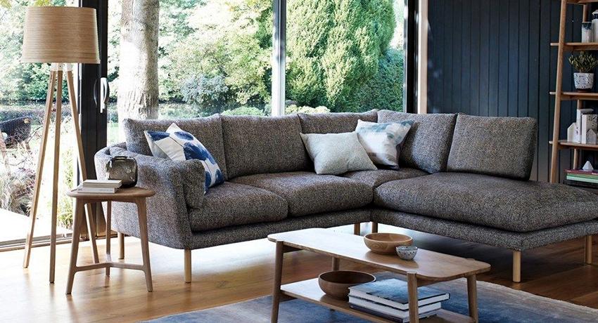 Угловой диван: фото красивой мебели с уникальным дизайнерским концептом