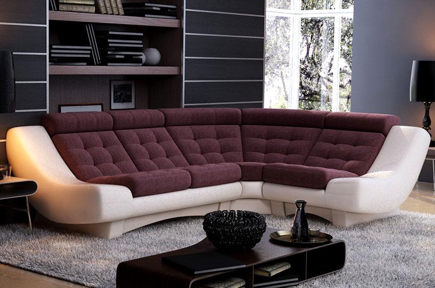 Угловые диваны с механизмом «Клик-кляк» отличаются современным и стильным дизайном