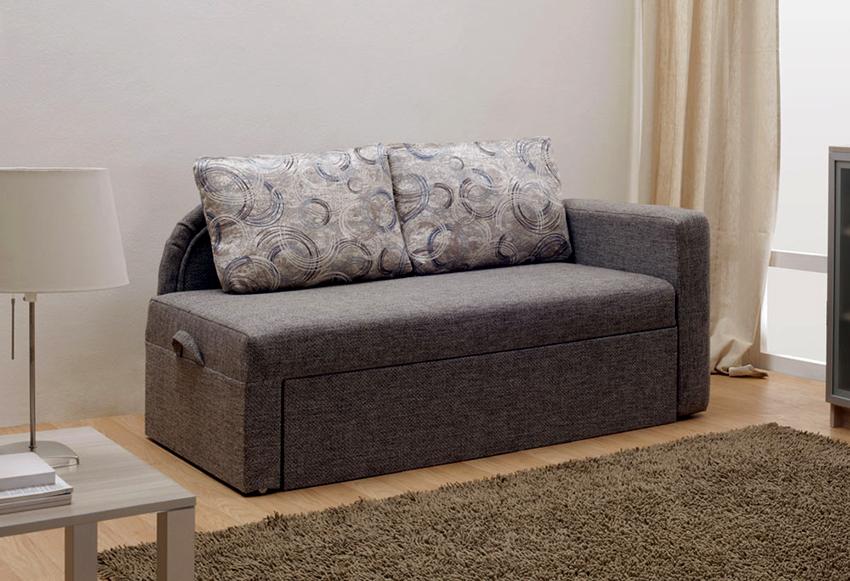 Односпальная угловая кушетка – это мини-диван для маленького помещения
