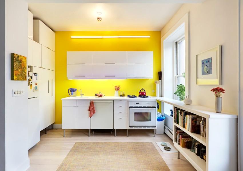 На желтой кухне повышается аппетит и поднимается настроение
