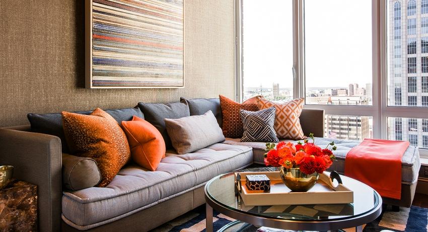 Диван в гостиную: непревзойденный дизайн и практичная конструкция