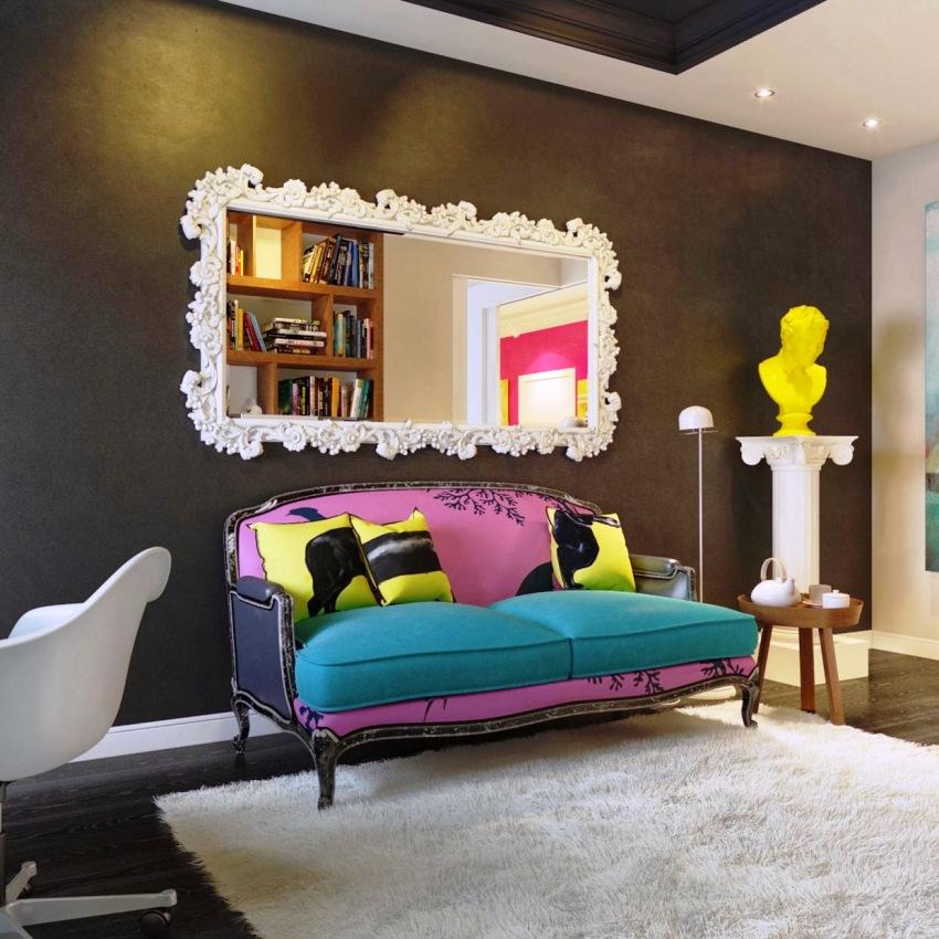 Перед тем, как выбрать диван в гостиную, нужно обратить внимание на цветовые тенденции современных интерьеров