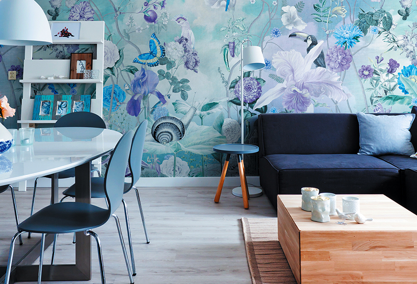 Выбирая обои в зал необходимо руководствоваться особенностями формы и стилистикой комнаты