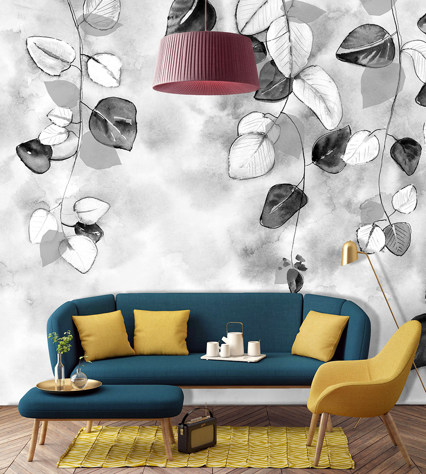 Самый популярный вариант размещения фотополотен – это на стене за креслами или диваном