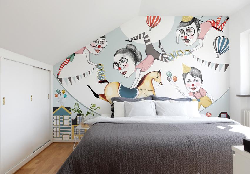 Помимо выбора материала обоев, следует обращать внимание и на текстуру, от которой будет зависеть не только внешний вид стен