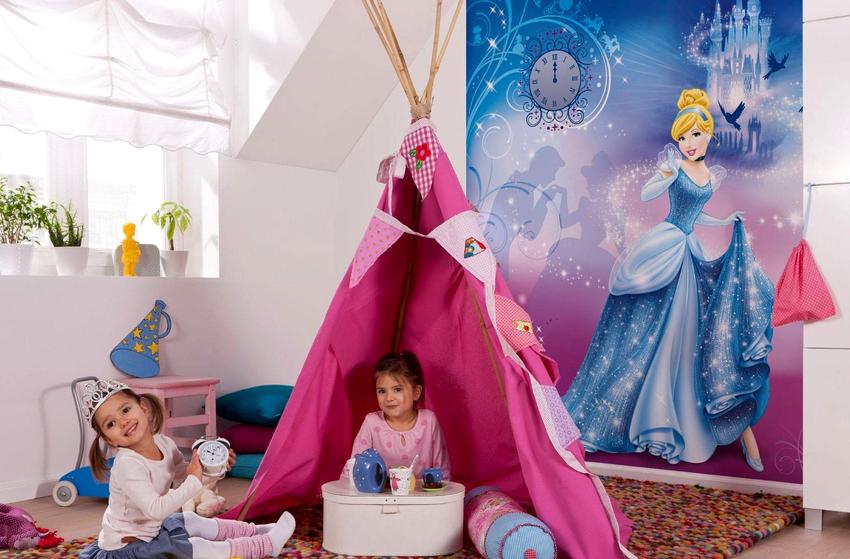 Выбирая фотообои на стену в детскую комнату нужно следовать советам не только дизайнеров, но и психологов