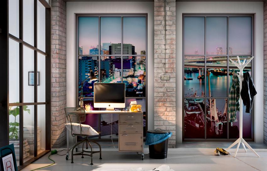 Создать в доме уют и комфорт помогут полотна имитирующие вид из окна