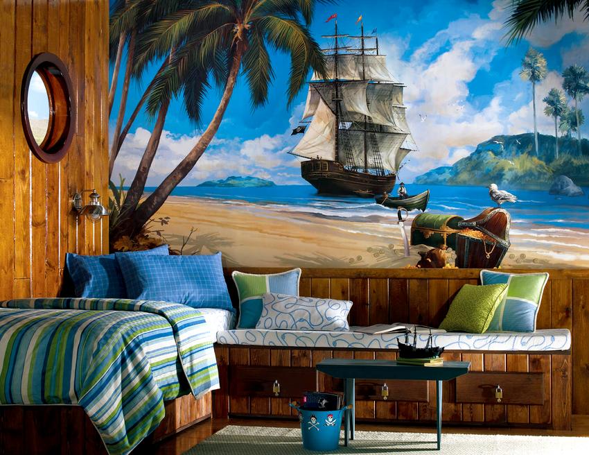 Тем, кто сильно любит море можно изготовить полотна на заказ