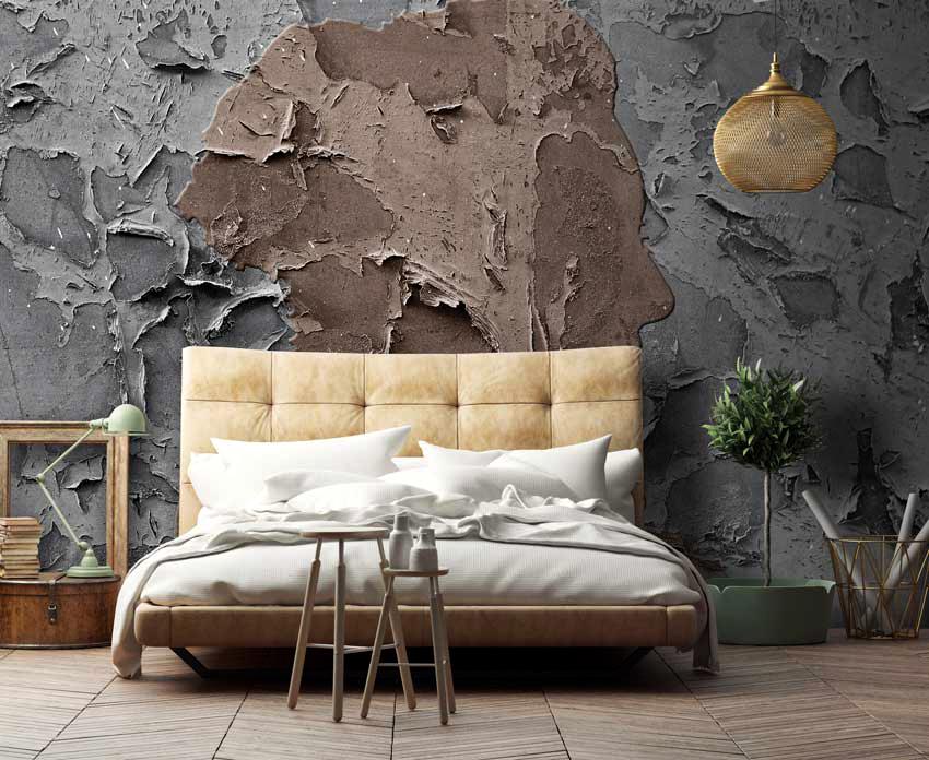 Для спален не рекомендуется выбирать фотообои слишком ярких и ядовитых оттенков