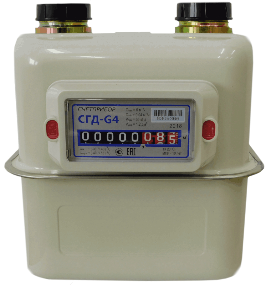 Средняя цена бытовых газовых счетчиков варьируется в пределах 2000-3000 руб.