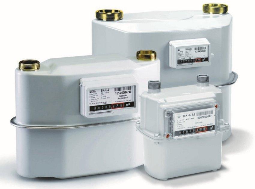 Оборудование для учета потребленного газа отличается разнообразием