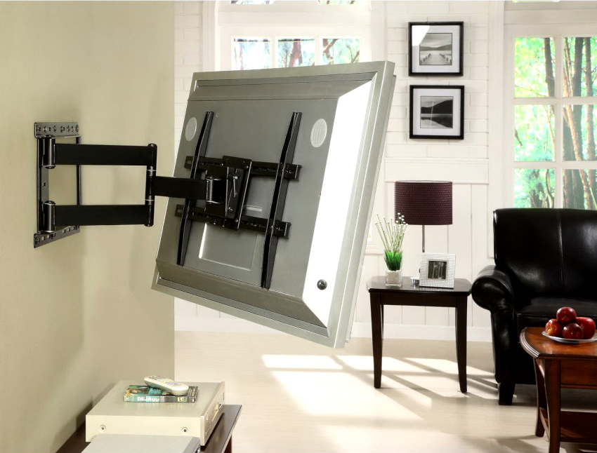 Негативный момент монтажа телевизора на стене – это отсутствие возможности переноса устройства