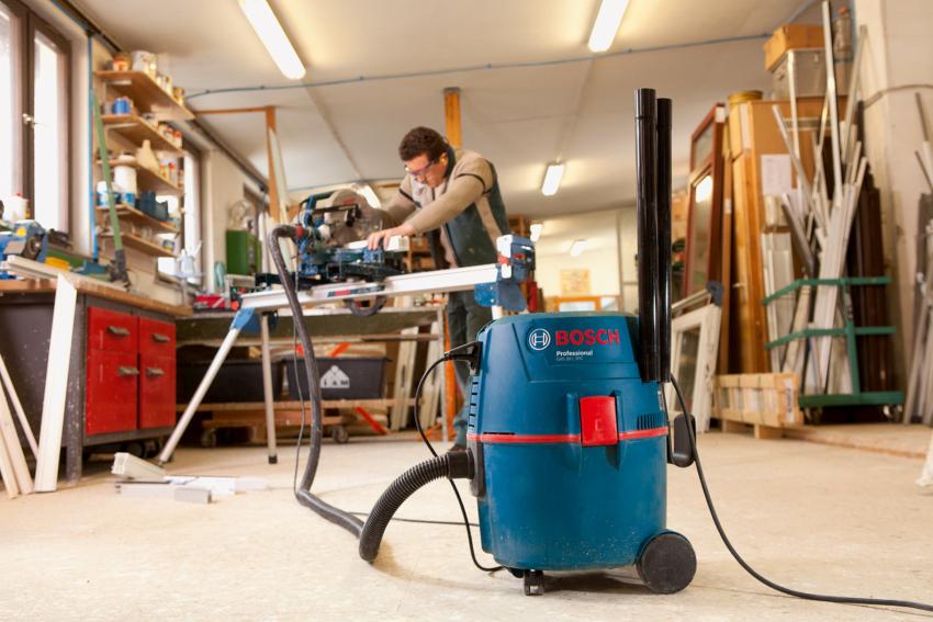 Пылесос Бош GAS 20L SFC признан лучшим в категории строительных приборов без мешка