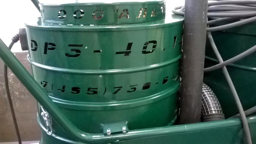 Промышленные пылесосы Дастпром могут работать в режиме как влажной, так и сухой уборки