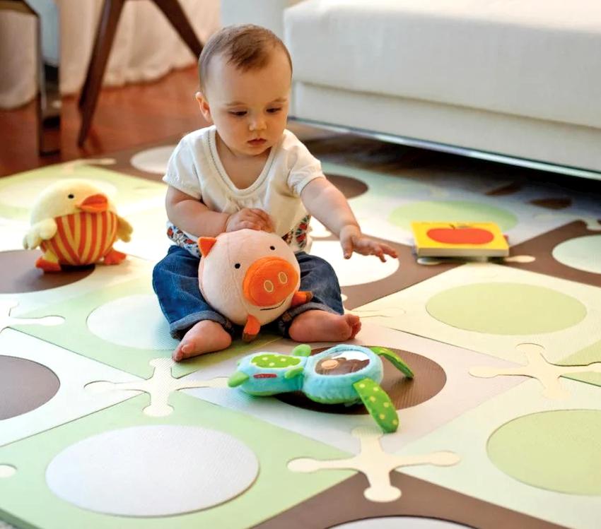 Набирает популярности использование в детских комнатах мягкого пола EVA (этиленовый виниловый ацетат)