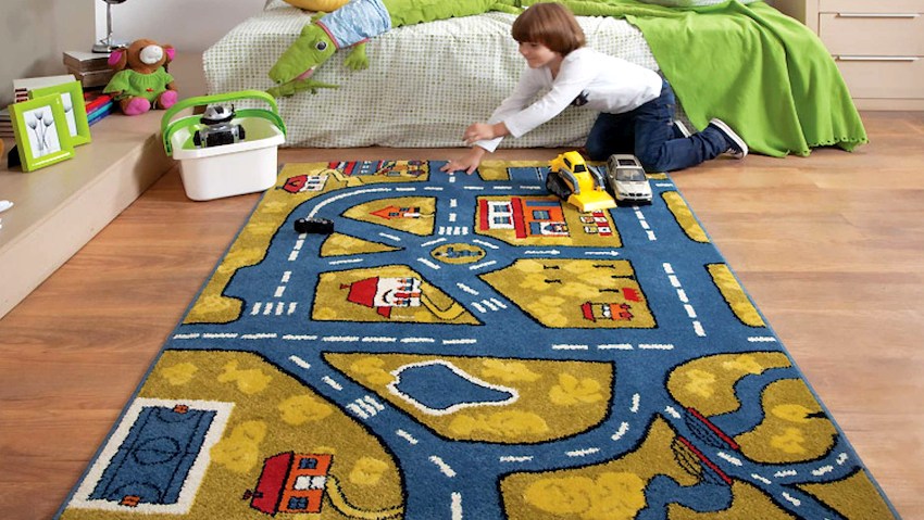 Дизайн коврового покрытия – это форма, размер, материал, способ изготовления, цвет, а еще и развивающие составляющие