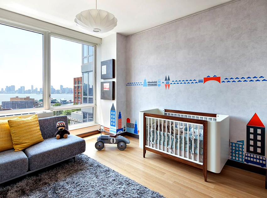 Для детской комнаты можно подобрать как оригинальную, так и элегантную люстру