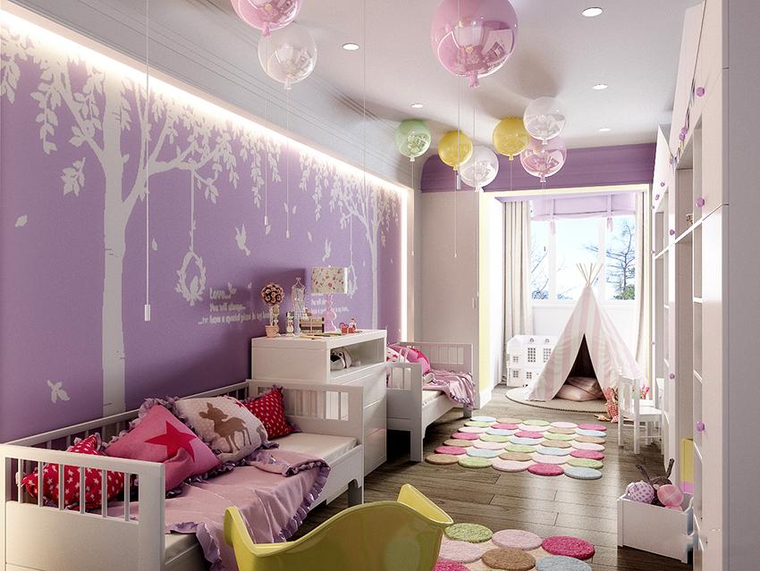 Безопасность – главное требование к осветительным приборам в детской