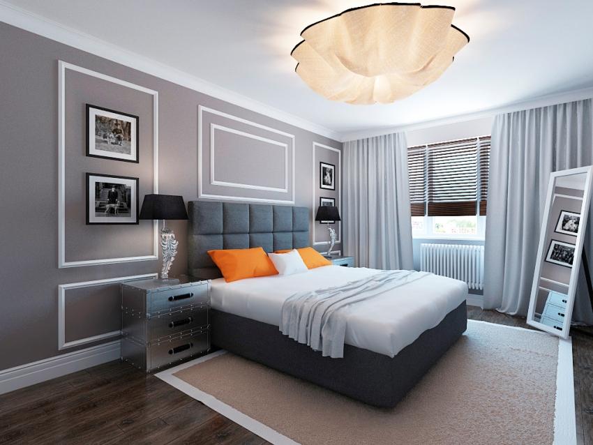 Практически в каждой спальной комнате устанавливается прикроватная тумба с дополнительным элементом освещения