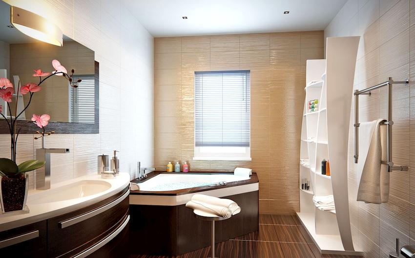 Обустраивая ванную мебелью из ДСП необходимо убедиться, что она имеет сертификаты качества