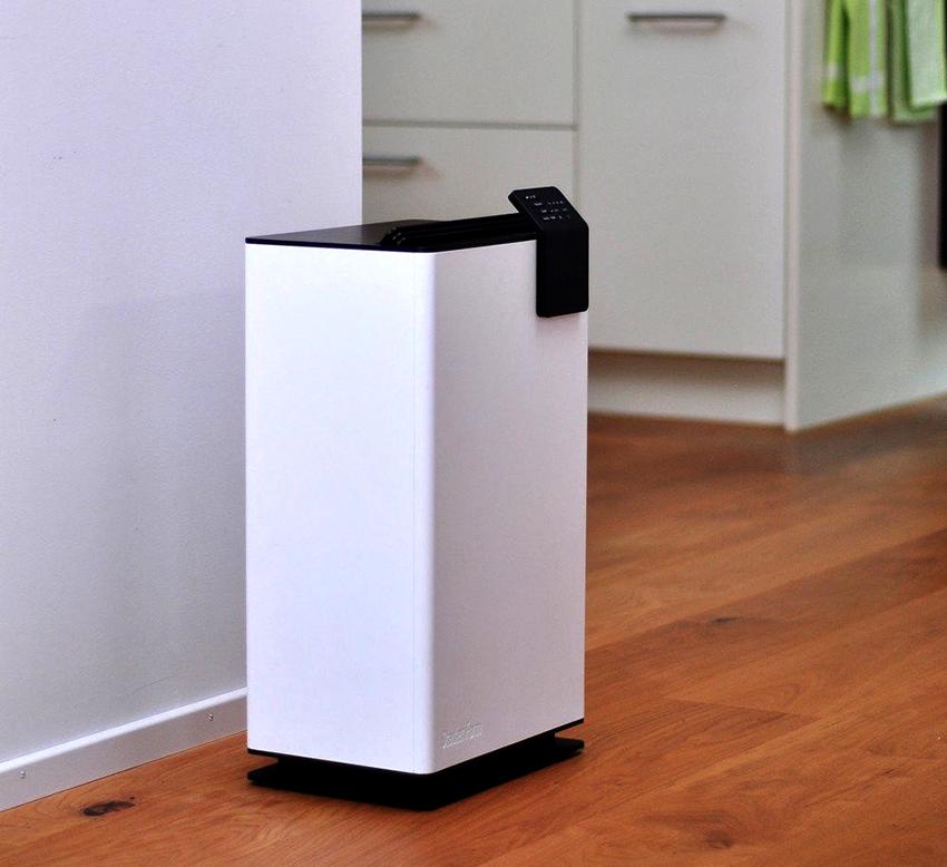 Ассимилирующий осушитель нормализует влажность в помещении благодаря воздухообмену