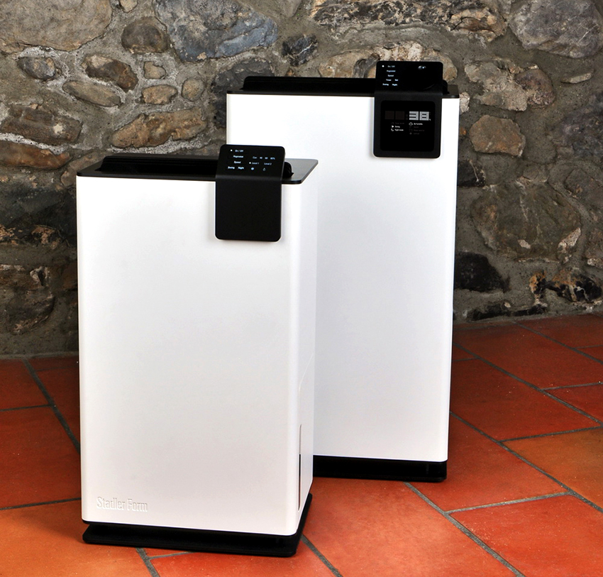 При покупке осушителя нужно обращать внимание на его мощность и энергопотребление