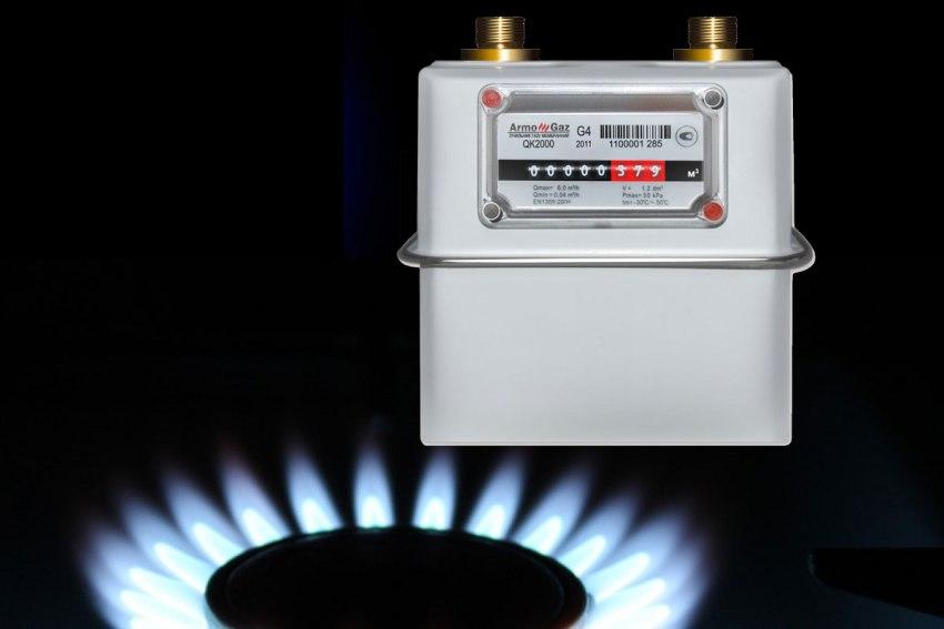 Все первые цифры до запятой учитываются при снятии показаний газовых бытовых счетчиков