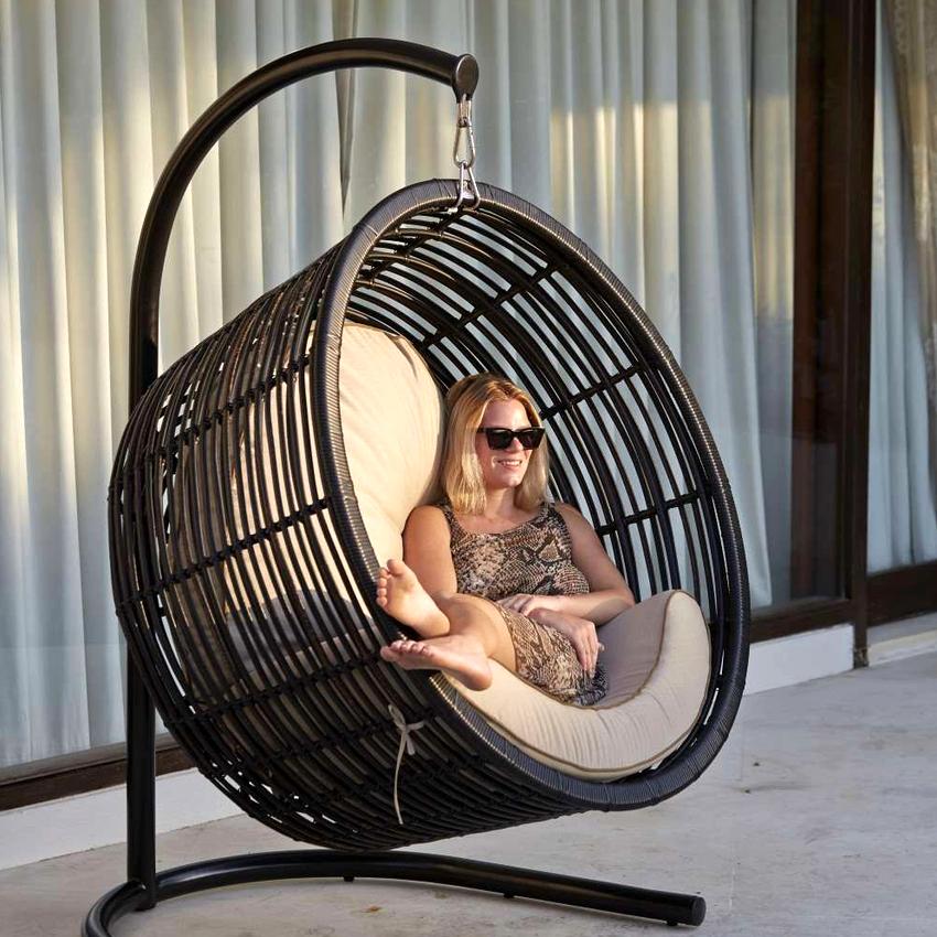 При правильном подходе готовое кресло будет выдерживать вес до 200 кг