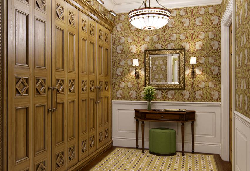Даже если все комнаты различаются между собой, то именно коридор должен объединить их в единую композицию
