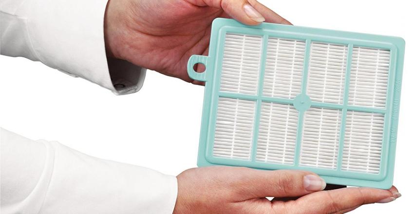 Самый широко используемый фильтр для пылесосов - это НЕРА-фильтр
