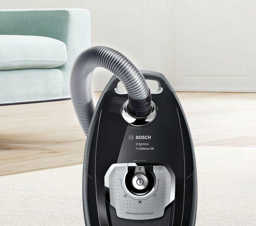Bosch - это не просто гарантия качественной очистки квартиры от грязи, но и значительное сокращение времени на уборку