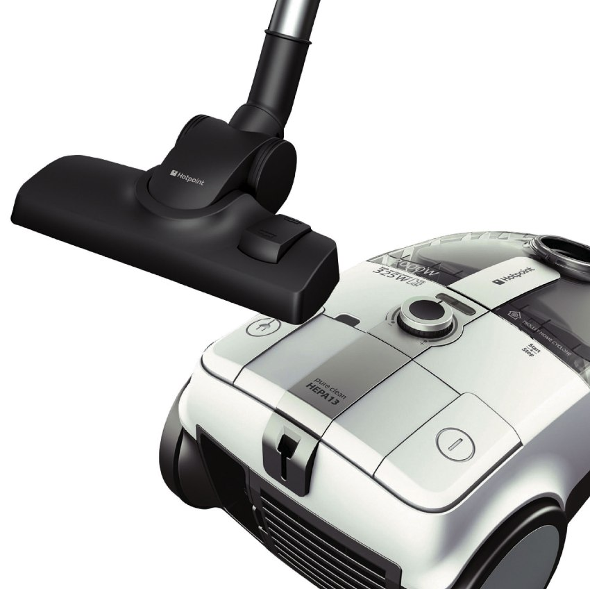 Пылесос Hotpoint-Ariston SL B22 AA0 - это мощный, надежный аппарат, оснащенный улучшенной системой фильтрации