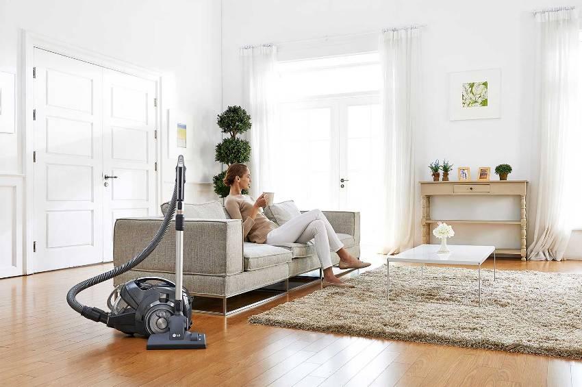 Экологичная система очистки моющего пылесоса показывает отличные результаты в избавлении даже от мелких частиц пыли