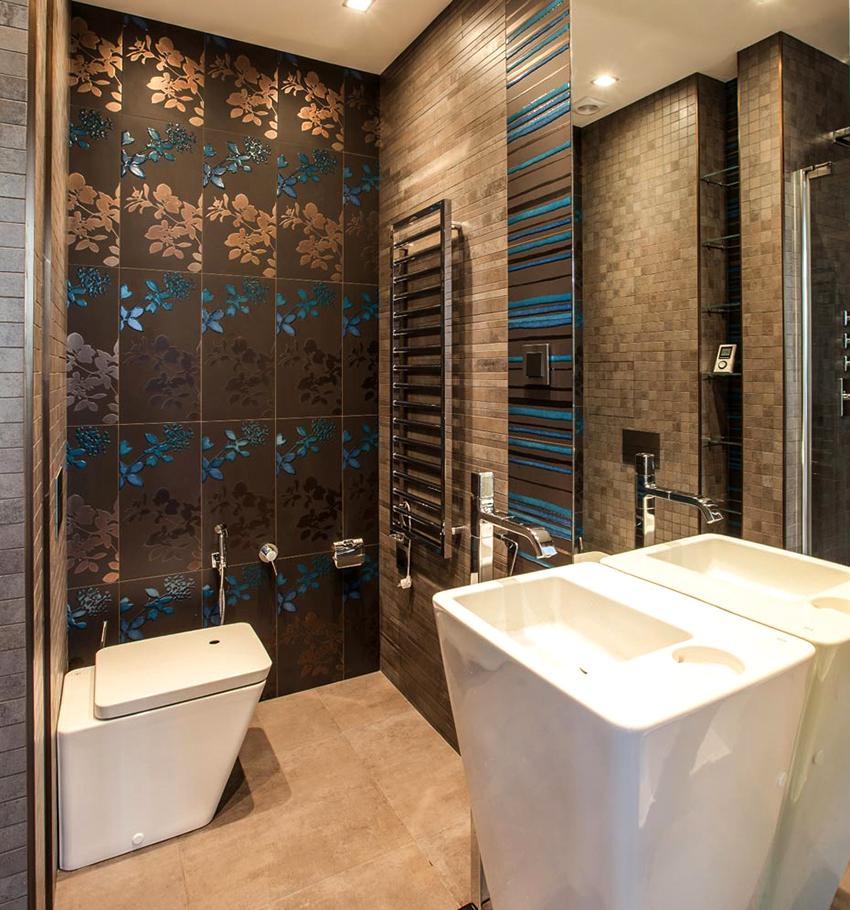 Если размер помещения позволяет, то желательно в туалете разместить раковину
