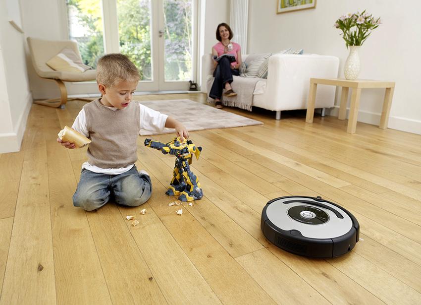 Роботы-пылесосы предназначены для уборки в автоматическом режиме