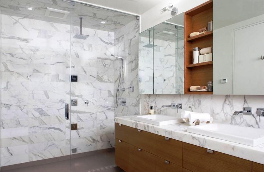 Множественный ассортимент фасадов шкафчиков для туалета, поможет выбрать максимально подходящие к дизайну комнаты варианты дверцей