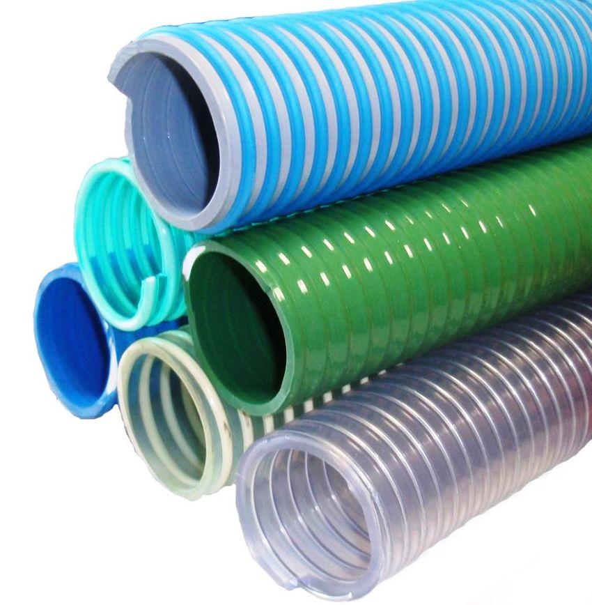 Шланги ПВХ сделанные из поливинилхлорида очень пластичны и имеют небольшой вес