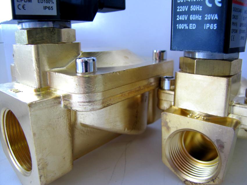 Соленоидные клапаны применяются в автоматизированных системах орошения
