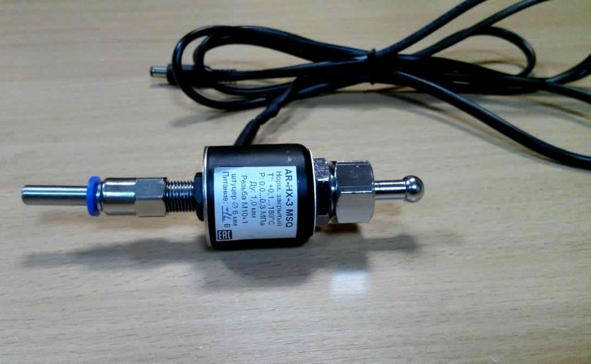 Соленоидный электромагнитный клапан AR HX 3 рассчитан на регулировку пара, воздуха, горячей и холодной воды
