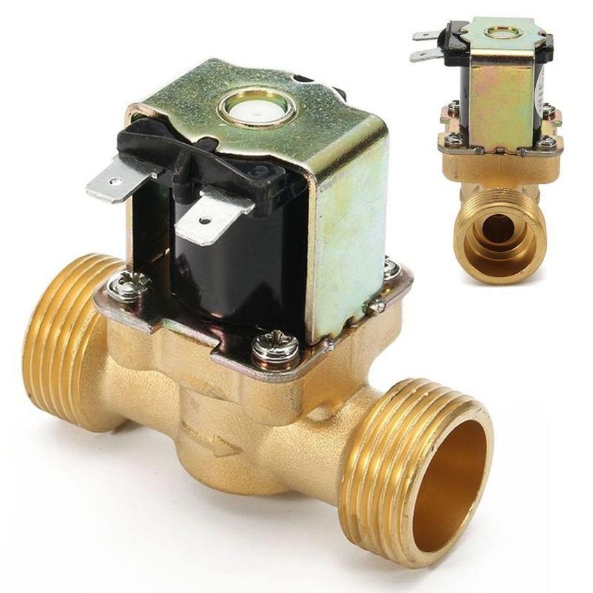 Перекрытие движения жидкости осуществляется с помощью мембраны, установленной внутри клапана