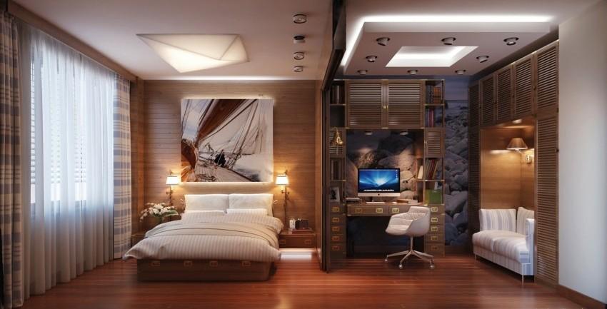 В современной квартире часто нужен, в дополнение к мебельной стенке, стол для компьютера