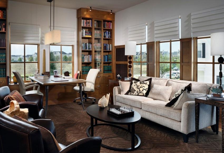 Мебельная стенка является неотъемлемым элементом интерьера почти в каждом доме