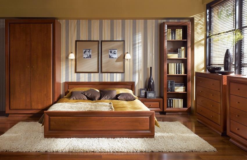 Производители предлагают широкий выбор фактур, цветов и форм стенок для спальни, по этому данную мебель можно подобрать под любой стиль интерьера