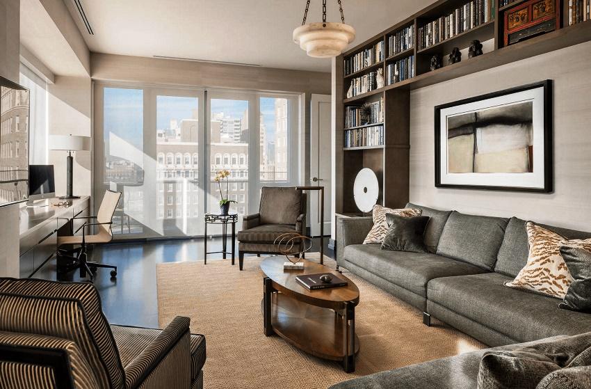 Грамотно подобранная стенка в спальню станет незаменимым предметом мебели и превосходным дополнением стиля, выдержанного в комнате