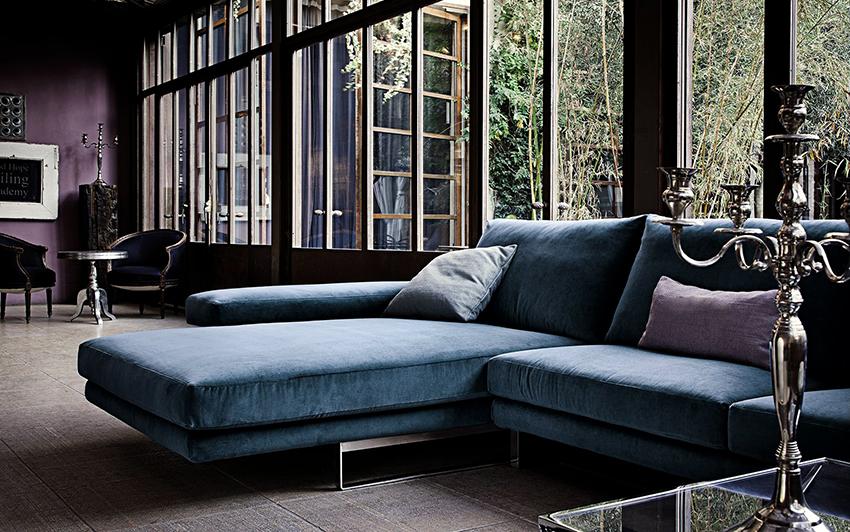 Стандартная длина угловых диванов варьируется в пределах 2,3-2,8 м