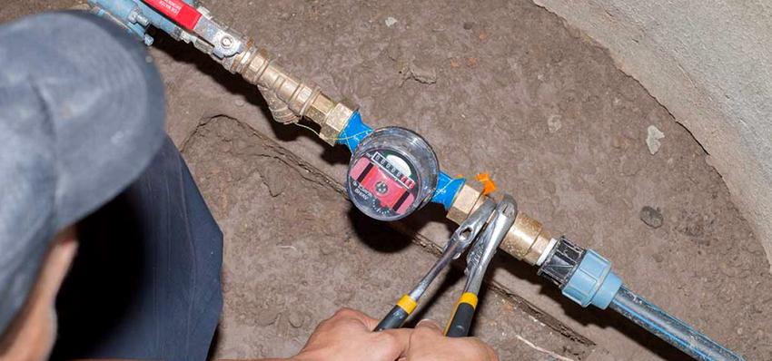 Очень важным моментом установки водосчетчика является определение направления движения воды